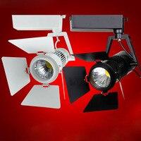 15 шт./лот свет следа 15 Вт 20 Вт удара железнодорожные огни удара трек светодиодные лампы спот-бра spotlight отслеживание LED AC85-265V