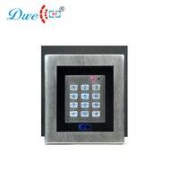 DWE CC cartão de RF de leitura de aço inoxidável dispositivo de controle de acesso autônomo offline