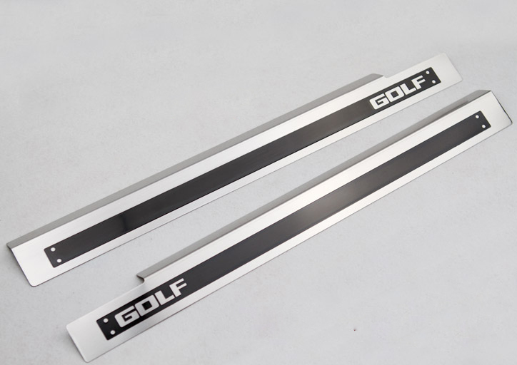 Front Door sill scuff plate Guards FOR VW GOLF 6 MK6 5door 2009 2010 2011 2012 relief for cnc in stl file format 3d panno herd model