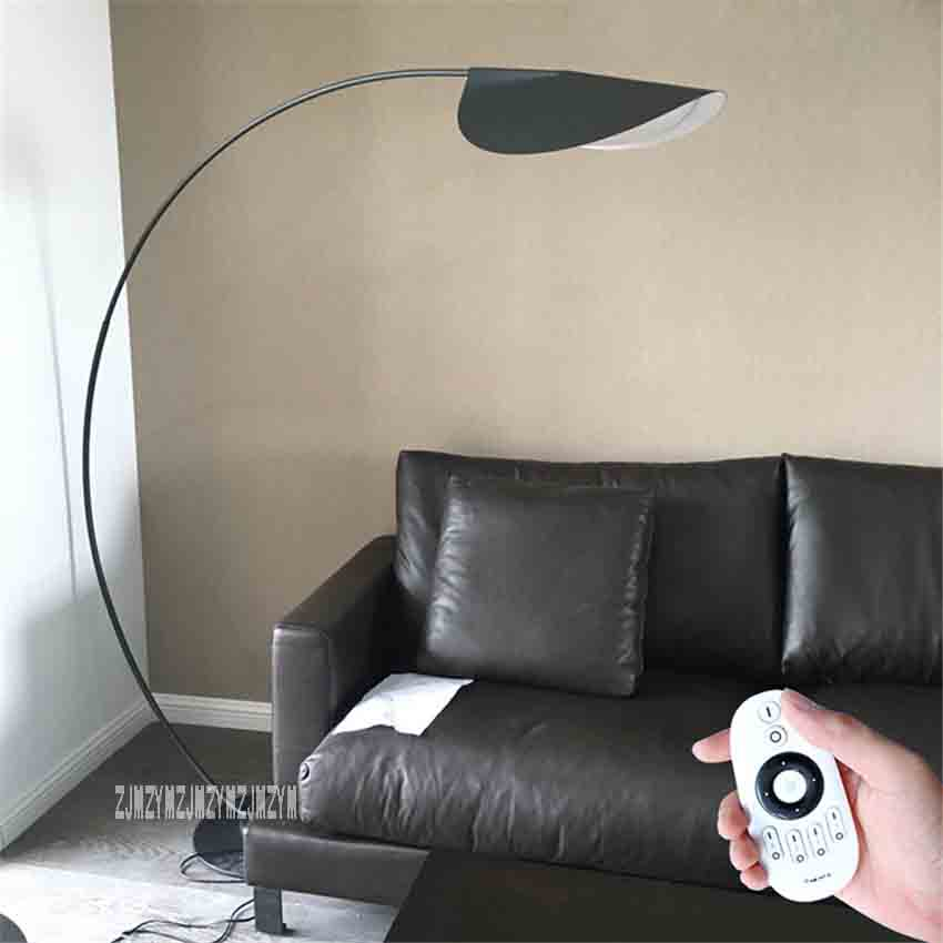DF9080 Nordic Post-modern Fishing Floor Lamp Remote Control Living Room Sofa Villa Study Eye protection Creative Art Floor Lamp