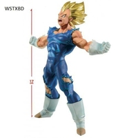 WSTXBD BANPRESTO Original Dragon Ball Z DBZ Blood Of SaiYan BOS Vegeta PVC Figure Toys Figurals
