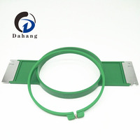 Embroidery Spare Parts Tubular Hoop 180mm Total Length 355mm With High Quality Tajima Hoop