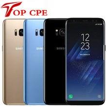 Samsung – Smartphone Galaxy S8/ S8 Plus débloqué, téléphone portable, 5.8 pouces/6.2 pouces, 4 go de RAM, 64 go de ROM, Octa Core, 4G, Android, 12mp, simple/double Sim