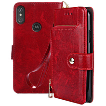 Flip Leather Case cover for Motorola One Power Android One for Motorola Moto P30 NOTE Stand Phone Cover Wallet case coque sfor phone case motorola one case luxury rubber phone case for motorola p30 play cover for moto one motorola one xt1941 fundas