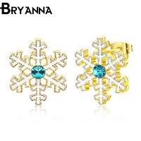 Bryanna 2017 Trendy Cute Christmas Earrings Santa Snowflake Earrings for Women Girls Nice Gift Christmas Earrings for WomenE1613