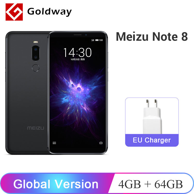 Global Versie Meizu Opmerking 8 4 Gb 64 Gb Mobiele Telefoon Note8 Snapdragon 632 Octa Core 5.99 ''2160x1080 P Dual Achteruitrijcamera 3600 Mah Brede VariëTeiten