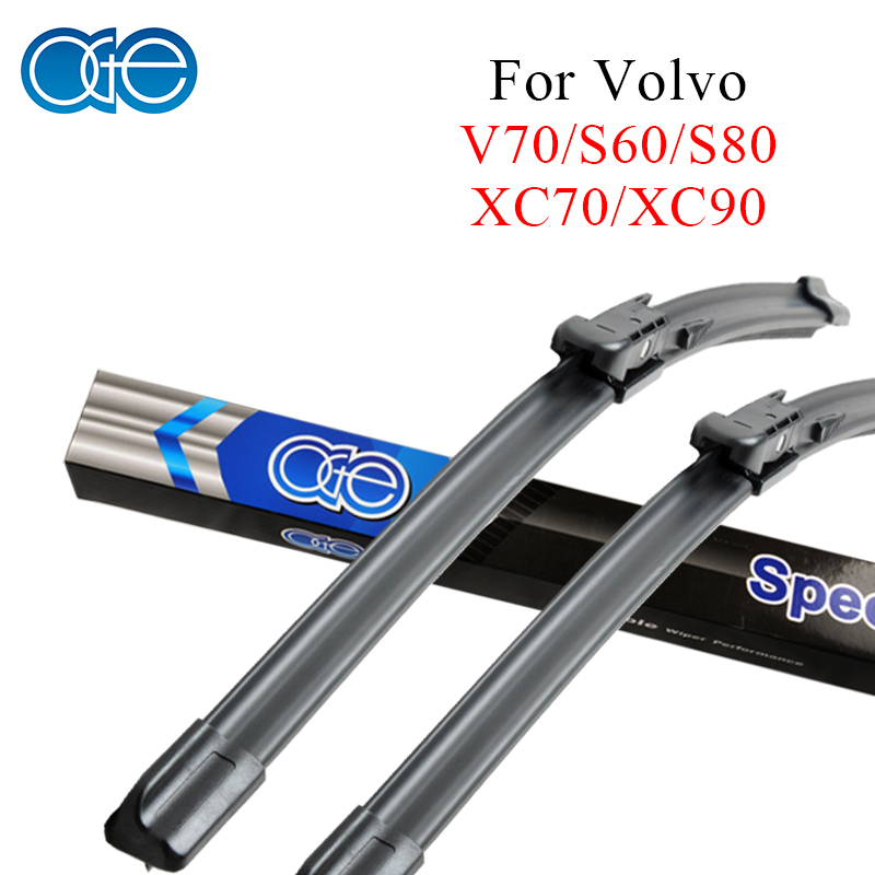Oge Professional Wiper Blade For Volvo XC70 XC90 V70 S60 S80 24''+22'' Natural Rubber Windshield Car Accessories