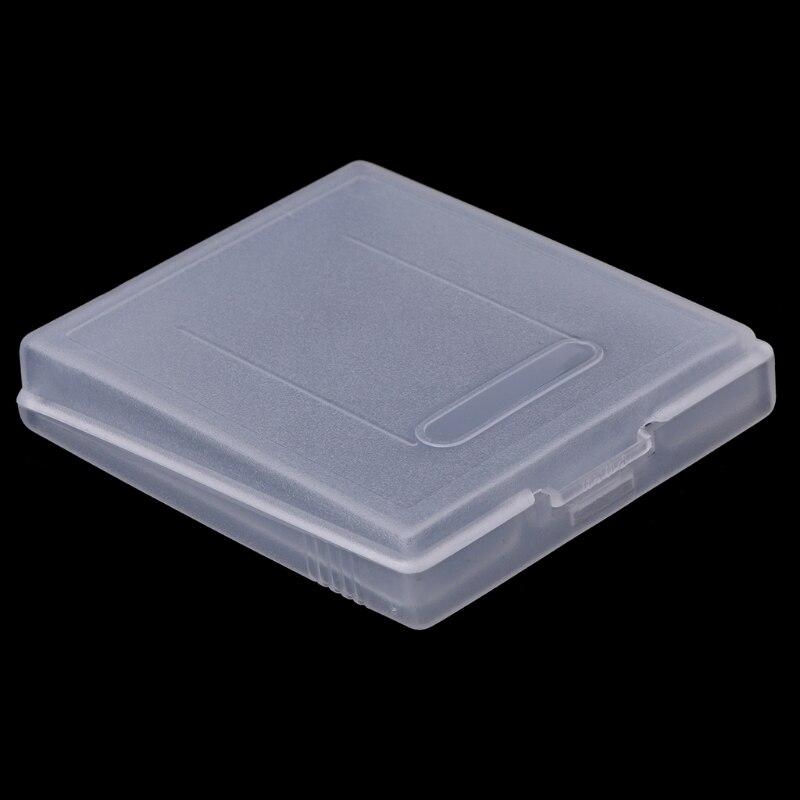 5x прозрачный пластиковый игровой картридж, чехол-пылезащитный чехол для Nintendo Game Boy Color GBC