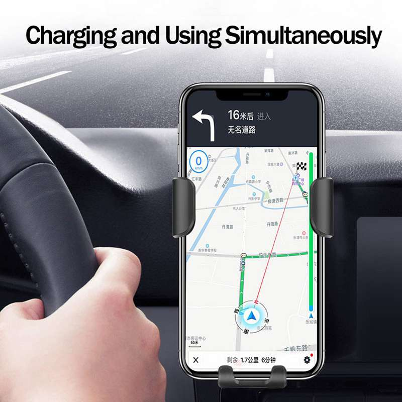 Image 4 - Fast 10W QI Wireless Charger Car Mount Holder Stand For iPhone XS Max Samsung S9 For Xiaomi Mi 9 Huawei Mate 20 Pro Mate 20 RS-in Car Chargers from Cellphones & Telecommunications