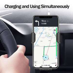 Image 4 - Fast 10W QI Wireless Charger Car Mount Holder Stand For iPhone XS Max Samsung S9 For Xiaomi Mi 9 Huawei Mate 20 Pro Mate 20 RS