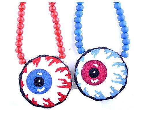 Maxi hip hop mishka nyc eyeball pendant wooden beads hipa necklace maxi hip hop mishka nyc eyeball pendant wooden beads hipa necklace jewelry aloadofball Image collections