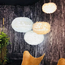 Modern Pendant Lights LED Light White Feather Pendant Lamps Home Indoor Lighting Restaurant Dining Room Living Room Hang Lamps t simple crystal fashion pendant light for dinging room home indoor lighting modern creative led chip lamps bar coffee shop