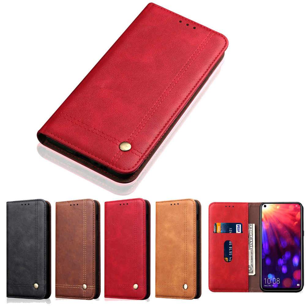 honor V20 case for huawei honor V20 honor 10 phone case leather flip cover luxury card slots coque cases for huawei honor10