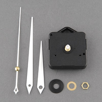 High Quality Quartz Useful Clock Movement Mechanism Parts Repairing DIY Replacement Tool Set With White Hands Hot