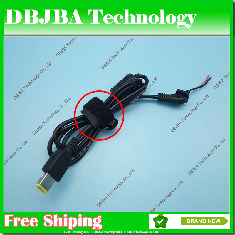 DC Tip Plug Connector Cord laptop power Cable For Lenovo IdeaPad Yoga Square Connector Charger Laptop adapter pc cable notebook 2pcs 5 5x1 7mm dc power charger plug cable connector for acer laptop adapter drop shipping wholesale