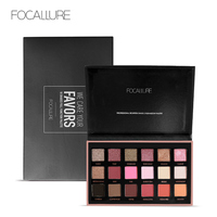 FOCALLURE 18 Colors Eyeshadow Palette Matte Diamond Glitter Matallic Eye Shadow In One Palette Blush Makeup