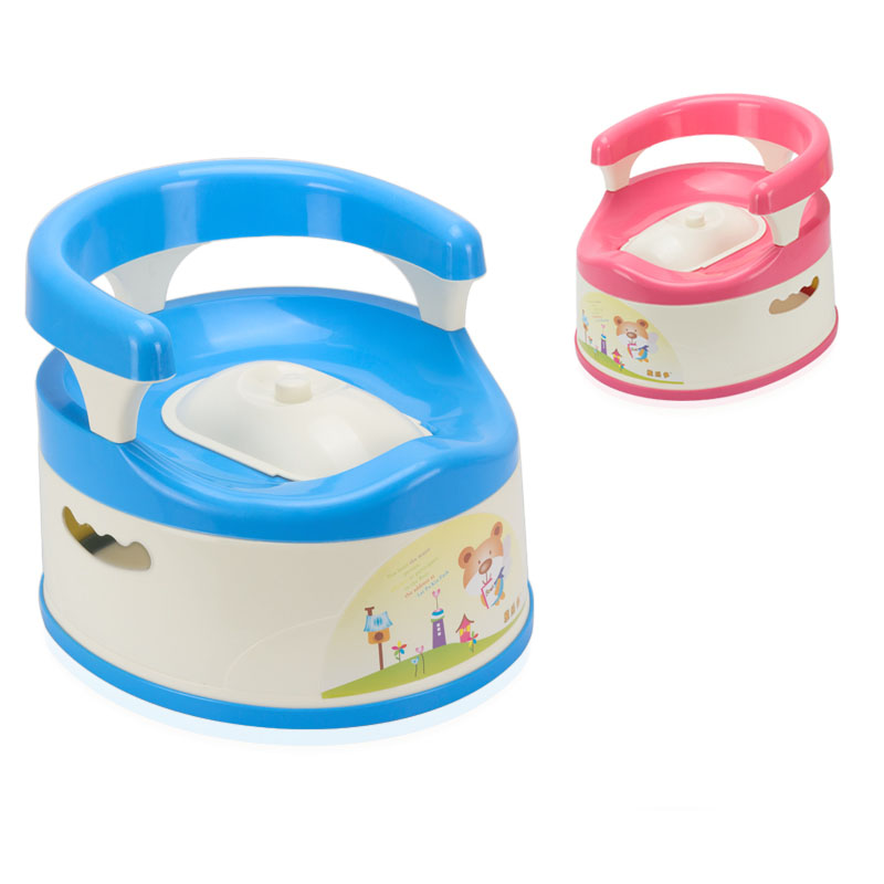 Large Capacity New Design Child Folding Portable To Carry Toilet Baby Potty Chair For 8 Month To 6 Years Old Children