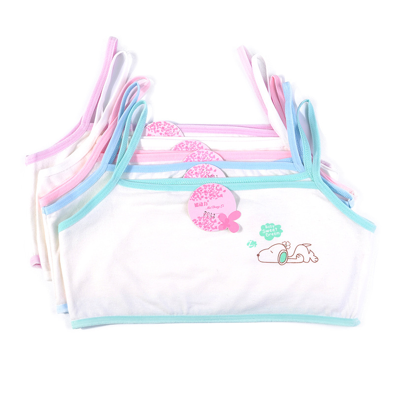 Product Features Great first bra,perfect starter bra,excellent for developing young girls.