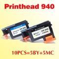 wholesale 10pcs 940 Printhead compatible for HP 940 940 C4900A/C4901A OfficeJet Pro 8000 8500w print head