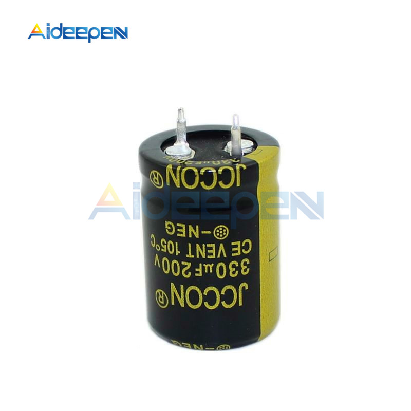 Aluminum Electrolytic Capacitor 200V 220uF- 2200uF 450V 220uF 450V 330uF Diy Tool