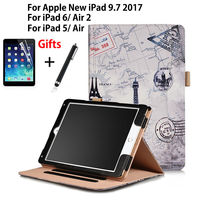High Qualtiy PU Leather Case For Apple New IPad 9 7 2017 A1822 Cover For IPad