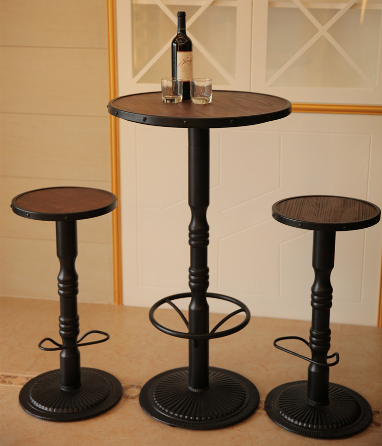 American Bar Chairs Wood Bar Tables And Chairs High Stool Starbucks Coffee  Table And Chairs, Wrought Iron Bar Stool Bar Stool Ro In Bar Stools From ...