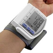 Health Care Portable Digital LCD Wrist Blood Pressure Monitor Heart Beat Rate Pulse Meter Measure