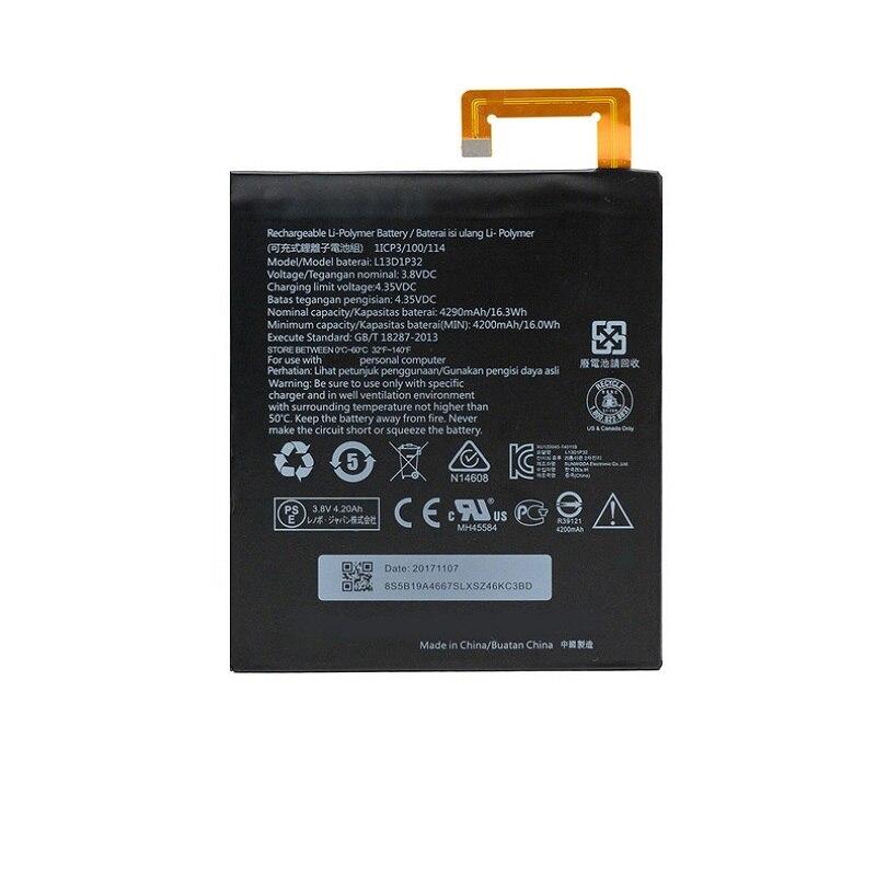 3.8v batteria per Lenovo IdeaPad a5500 IdeaPad a8 IdeaPad a8-50 l13d1p32 UK NUOVO