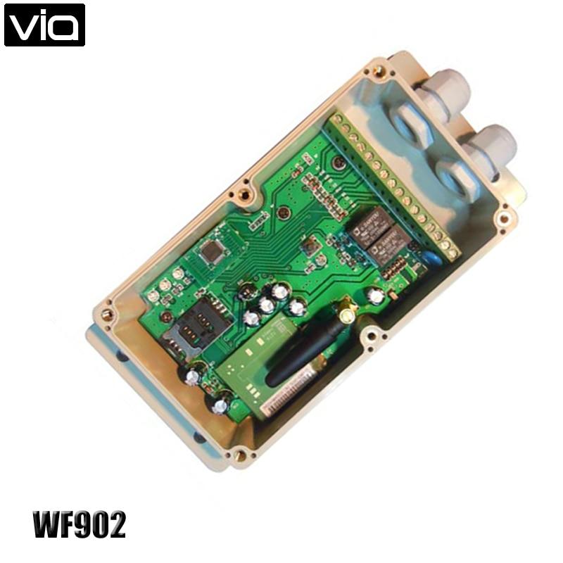 VIA WF902 უფასო გადაზიდვა GSM Unit წყლის დონის მონიტორის სიგნალიზაცია