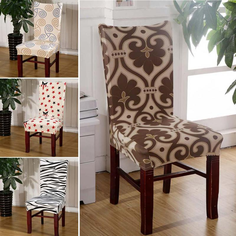 11 Patterns For Choice High Quality Fashion Stretch Banquet Slipcovers Dining Room Wedding Party Chair Covers Seat Cover