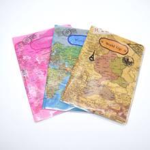 Mode PU PVC Paspoorthouder Wereldkaart Reizen Paspoort Cover Case Merk Paspoorthouder Documenten Map Tas