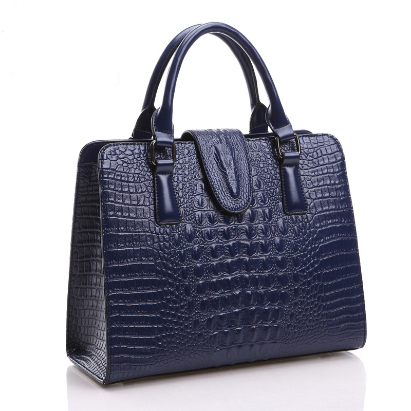 New Arrival Authentic Women Crocodile Bag 100% Genuine Leather Women Croco Handbag Hot Selling Tote Women Bag Luxury Brand Bags