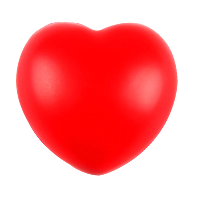 Anti-Stress Ball Toys Squeeze Relax Pressure-Relief Heart-Shaped Fun Gifts Funny 1pcs img4