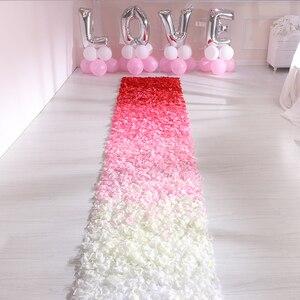 Image 1 - 500pcs משי רוז עלי כותרת חתונת קישוט מזויף פרח עלי כותרת קונפטי אירוסין יום נישואים מסיבת בית דקור אבזרים