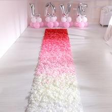Pétalos de rosa de seda para decoración de boda confeti de pétalos de flores falsas, accesorios de decoración para el hogar, fiesta de aniversario de compromiso, 500 Uds.