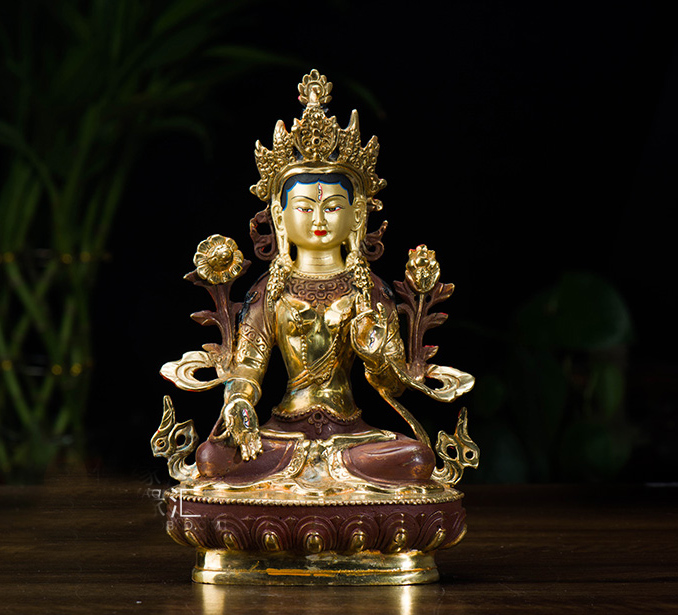 Buddha figure # efficacious  HOME OFFICE House Protection Talisman # 21cm tall  Tibetan Buddhism brass Dolma Buddha statueBuddha figure # efficacious  HOME OFFICE House Protection Talisman # 21cm tall  Tibetan Buddhism brass Dolma Buddha statue