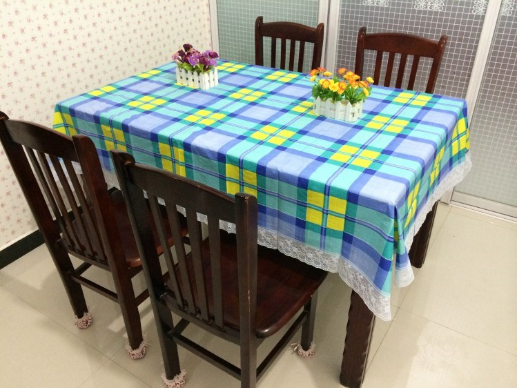 Continental Waterproof Coffee Table Cloth Anti Scald Pvc Plastic Disposable Tablecloth Rectangle Round Table Cloth
