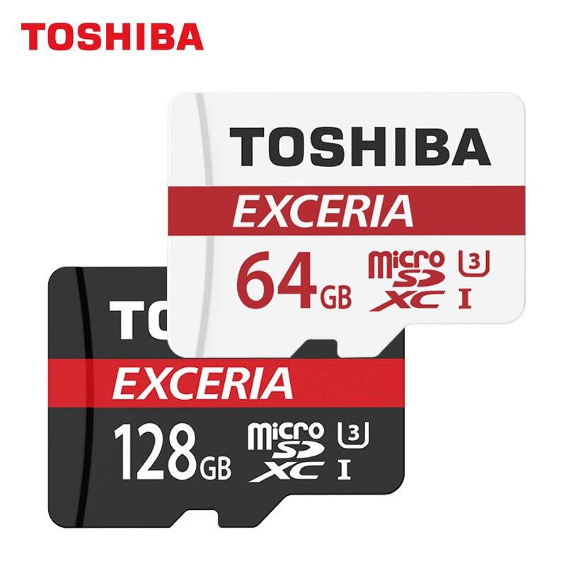 TOSHIBA Micro SD Card 128GB/64GB M302 Flash Memory Card Class10 TF Card SDXC Microsd UHS ...