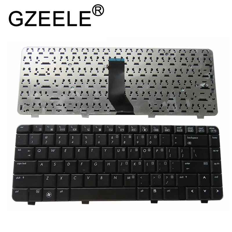 GZEELE New FOR HP 6720S 550 540 541 6520C 6520S 6520P 6520B US English Laptop Keyboard Black