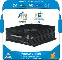 4CH VEHICLE Mobile DVR GPS Tracking 3G EVDO 2 5 SATA HDD 1TB SD Card 64GB