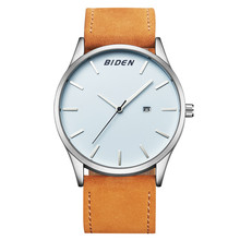 Мужские Часы Моды Кожа Водонепроницаемый Кварцевые Наручные Часы Лучший Бренд Класса Люкс Мужчины Часы Мужской Часы relojes hombre saat