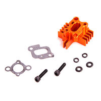 Baja CNC Billet Air Intake Manifold for 23 30.5CC Engine Zenoah CY for 1/5 HPI KM Rovan Baja 5B 5T 5SC Losi 5ive T Rc Car Parts