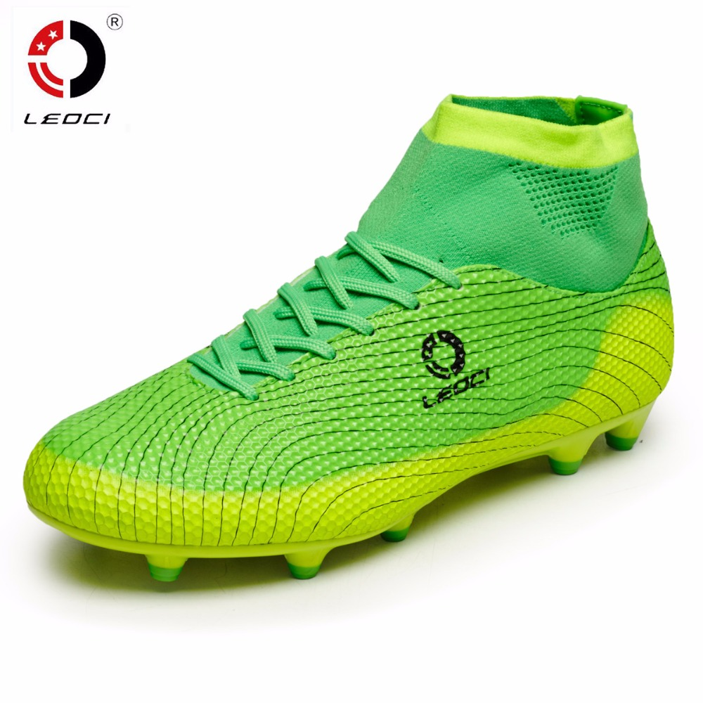 Cheap Football Boot Ankle High Soccer Boots Kids Cleats 2016 Football With Ankle Boots Superfly ...