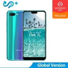 2019 nouveauté Huawei honour 10 honour 10 24.0MP AI caméra 24.0 téléphone portable Kirin 970 AI changeur de processeur couleur verre couverture