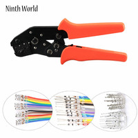 SN 28B Non Insulated Tabs Terminals Crimper Professional Crimping Tool For Dupont Connector AWG 28 18