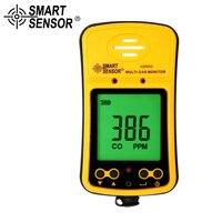 Умный датчик Высокочувствительный 2 в 1 Угарный газ/сероводород детектор газа co метр детектор газа газоанализатор