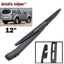 """Erick's Wiper 1"""" Задняя щетка стеклоочистителя и набор рычагов для Nissan Pathfinder R51 2005-2012 ветровое стекло заднего стекла"""