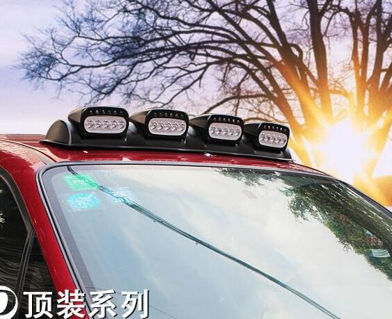 Car roof lights led bar light deep night lamps 100w with car roof lights led bar light deep night lamps 100w with controller wire suitable for 12v 24v all suv 4x4 4wd truck in car light assembly from automobiles mozeypictures Images