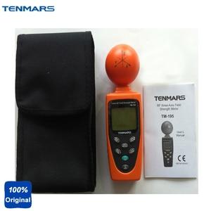 TM-195 3 axes RF champ résistance mètre EMF mesure et surveillance de la radiofréquence (RF) force de champ électromagnétique