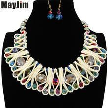 Массивное модное ожерелье mayjim для женщин 2018 винтажный воротник